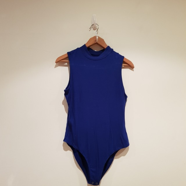 High Neck Bodysuit Small