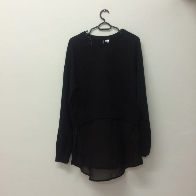 H&M Divided Black Sweater/ pullover