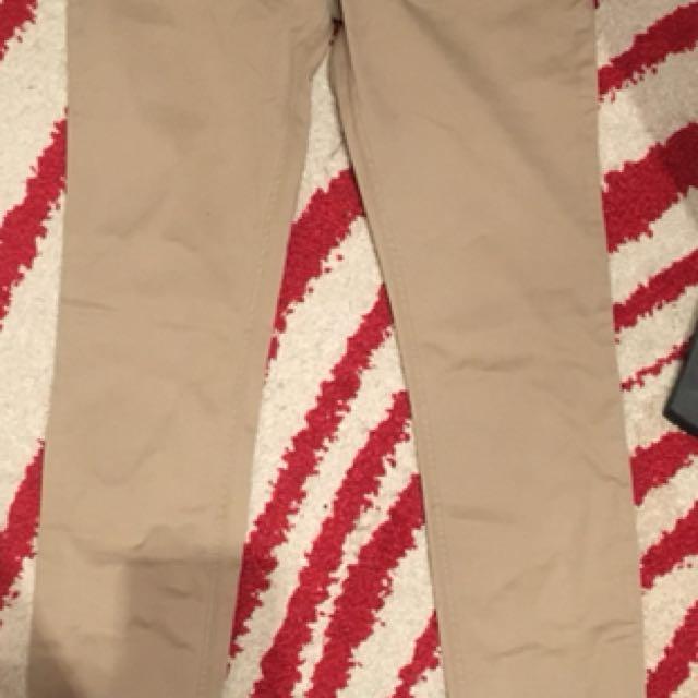 Hollister Khaki Skinny Jegging Pants