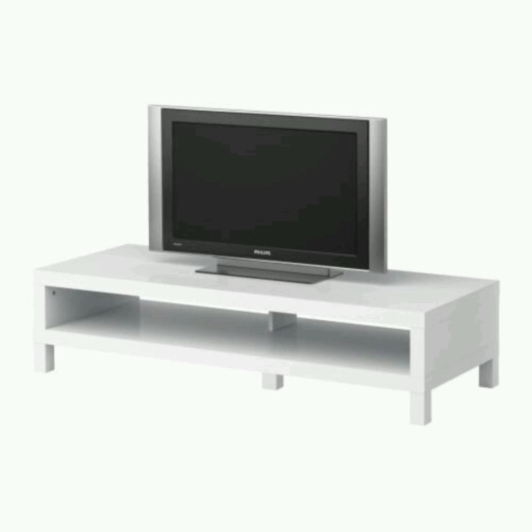 Ikea lack tv bench tv table rak tv rumah perabot for Lack mueble tv
