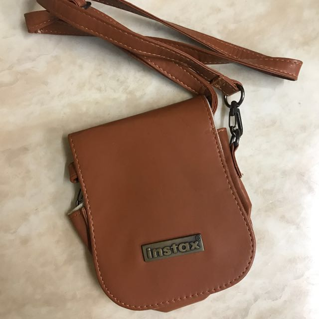 Instax cover brown