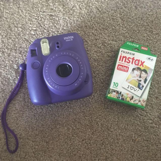 Instax mini 8 purple