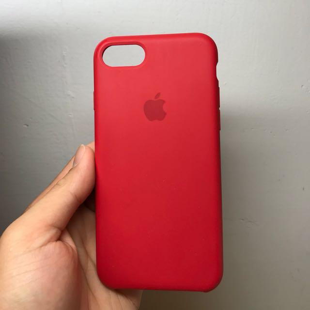iPhone 7 原廠矽膠保護套