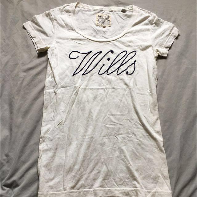英國品牌Jack Wills 短袖上衣 短T Logo
