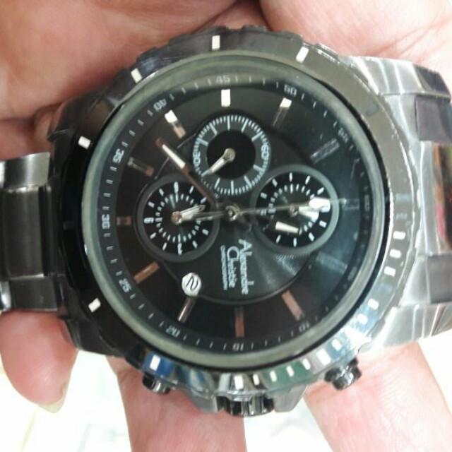 Jam tangan alexandre christie original