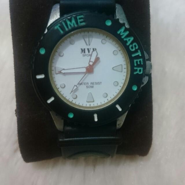 Jam tangan import / watch mvp time master