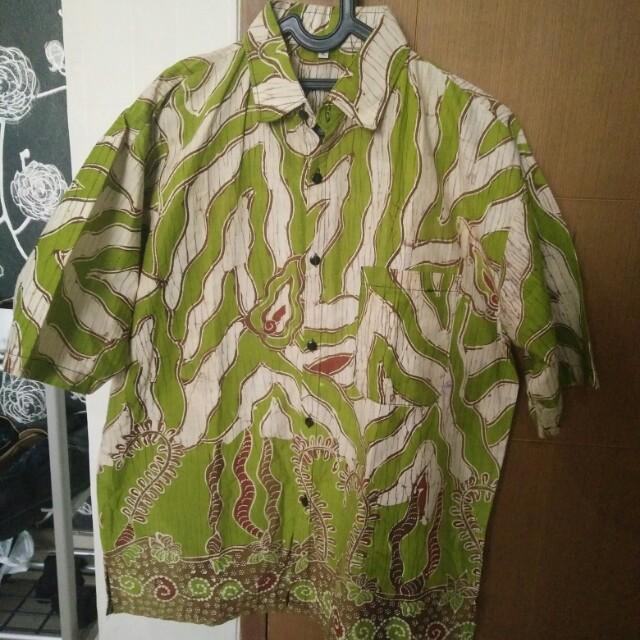 Kemeja batik XL