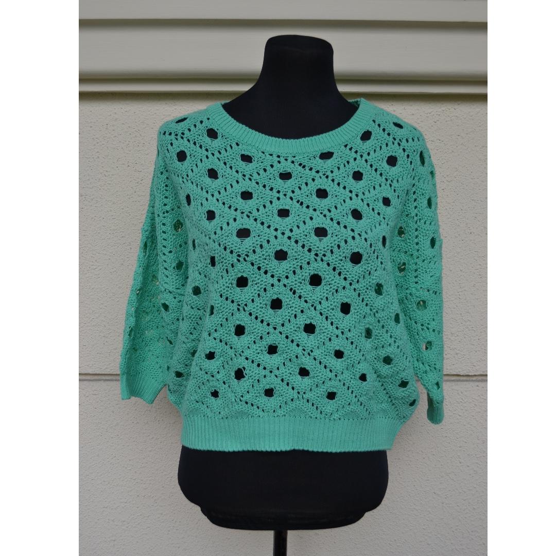 Korea Mint Sweater