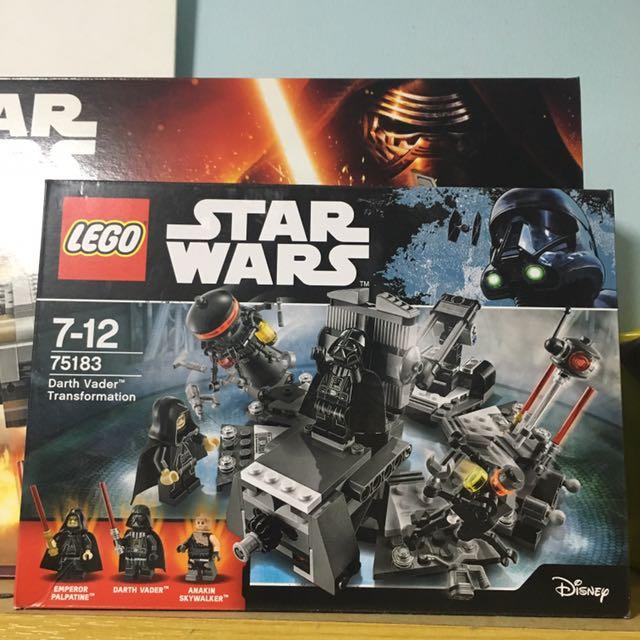 Lego Star Wars 75183 Darth Vader Transformation Disney Toys Games