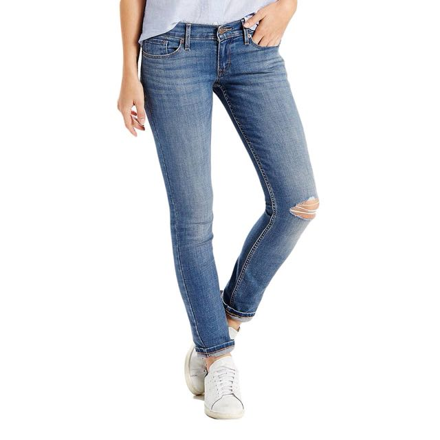 Levi's too super low 524 jeans