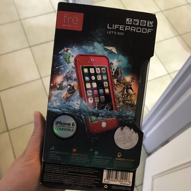 Lifeproof fre 手機殼 for iPhone 6