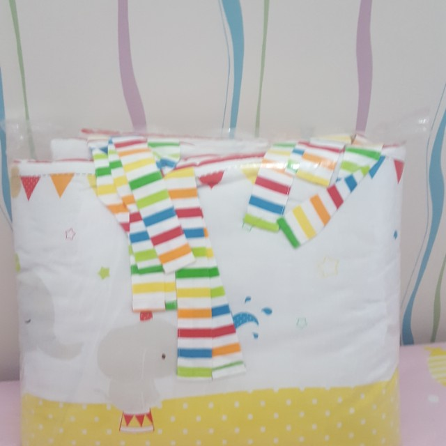 Long bumper for baby  box