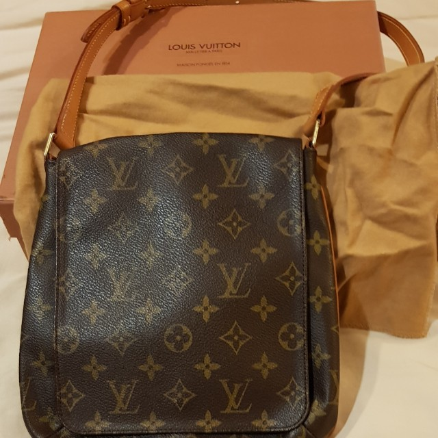 fb7e1bd976149 Louis Vuitton Monogram Canvas Musette Salsa Short Strap Bag