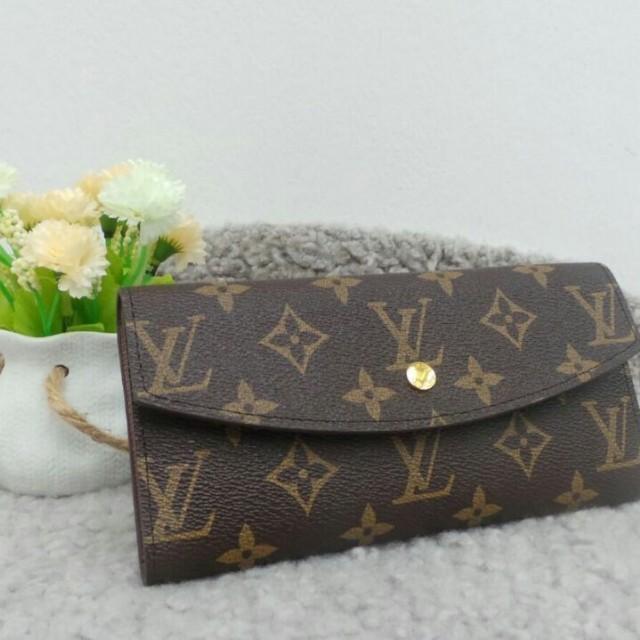 7ece47b5855d Louis Vuitton Wallet button 4A