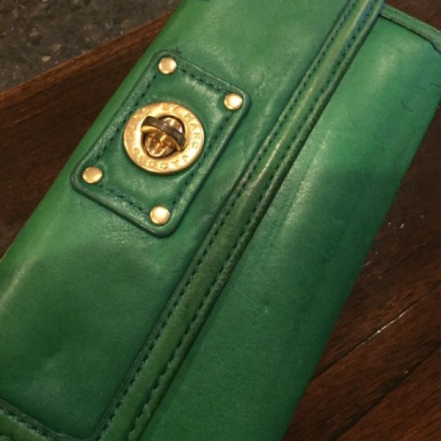Marc by marc jacobs wallet ( green )