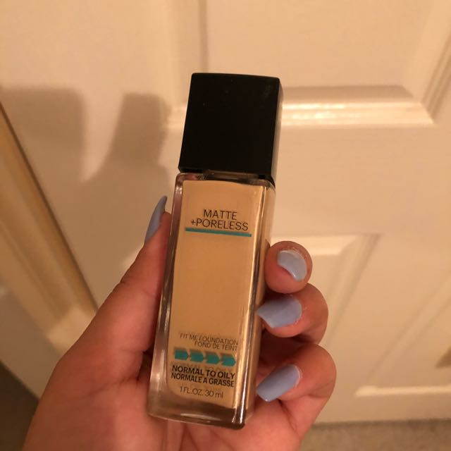 Maybelline FITME Poreless Matte Foundation