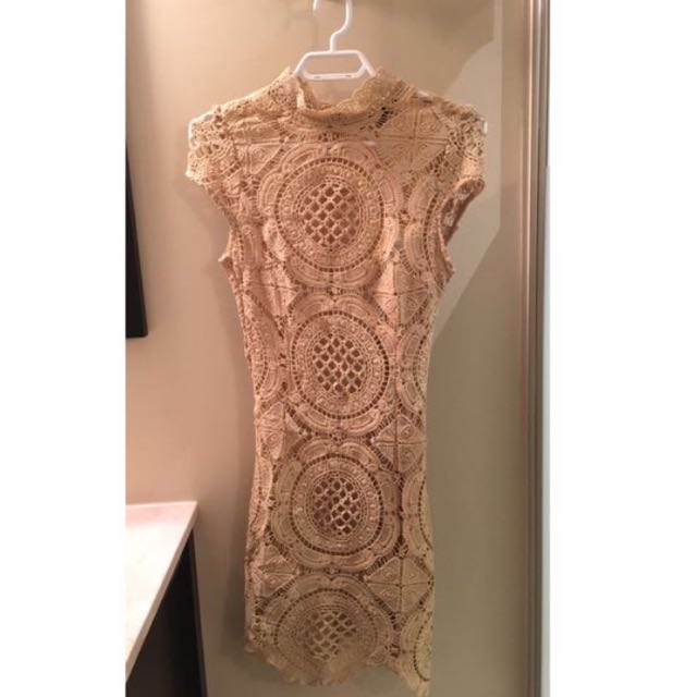 Mendocino beige dress