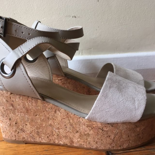 Mimco wedges ladies sz10