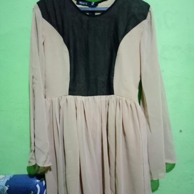 Mini dress shoulder