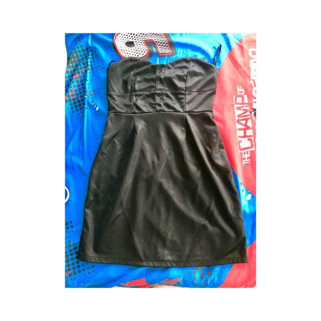 Mini tube, corset dress