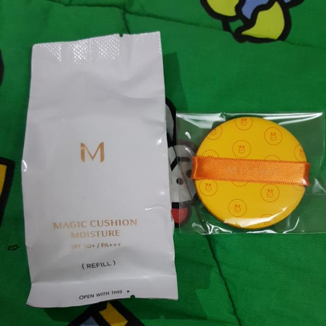 Missha SALLY M Magic Cushion Moisture + Puff