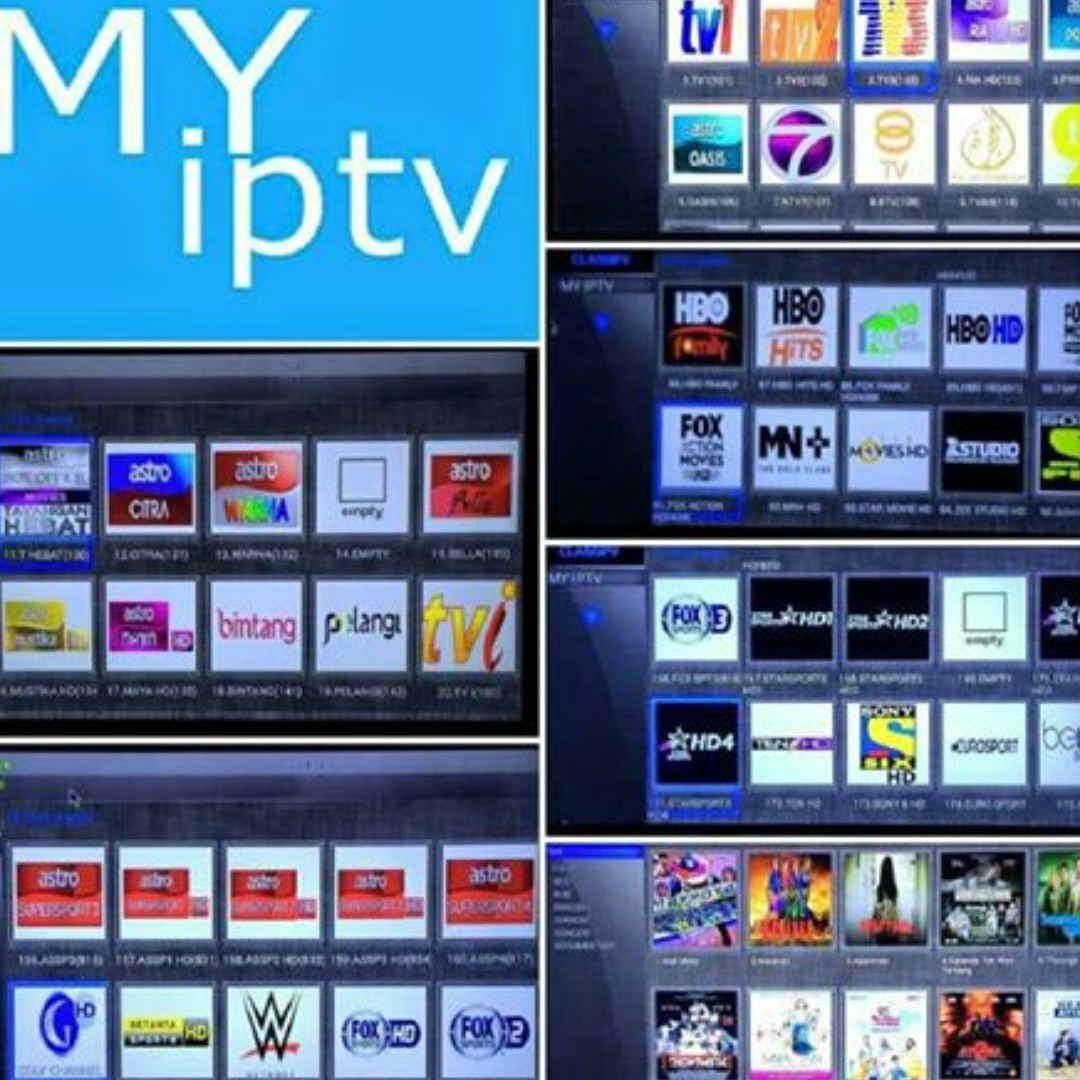 MyIptv, Fast Renewal/Subscription Malaysia Hot Pay Channel /Singapore  /Indonesia /International IPTV APK (200+ TV channels)