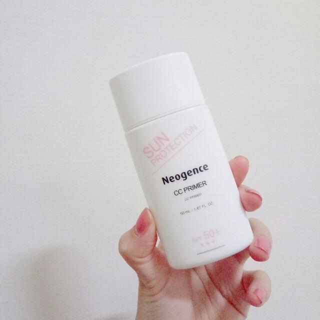 Neogence 妝前防曬隔離 SPF50+😎