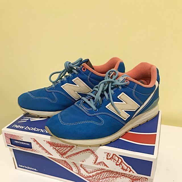 New Balance 996藍色休閒鞋