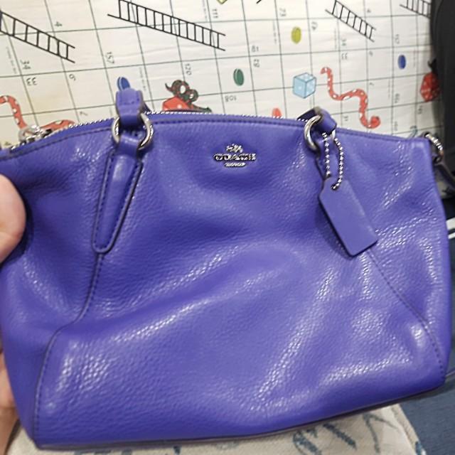 ... spain new coach bag purple price tag on 69ea4 11774 c007ad8a8f