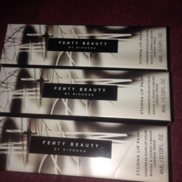 New fenty beauty stunna lipstick