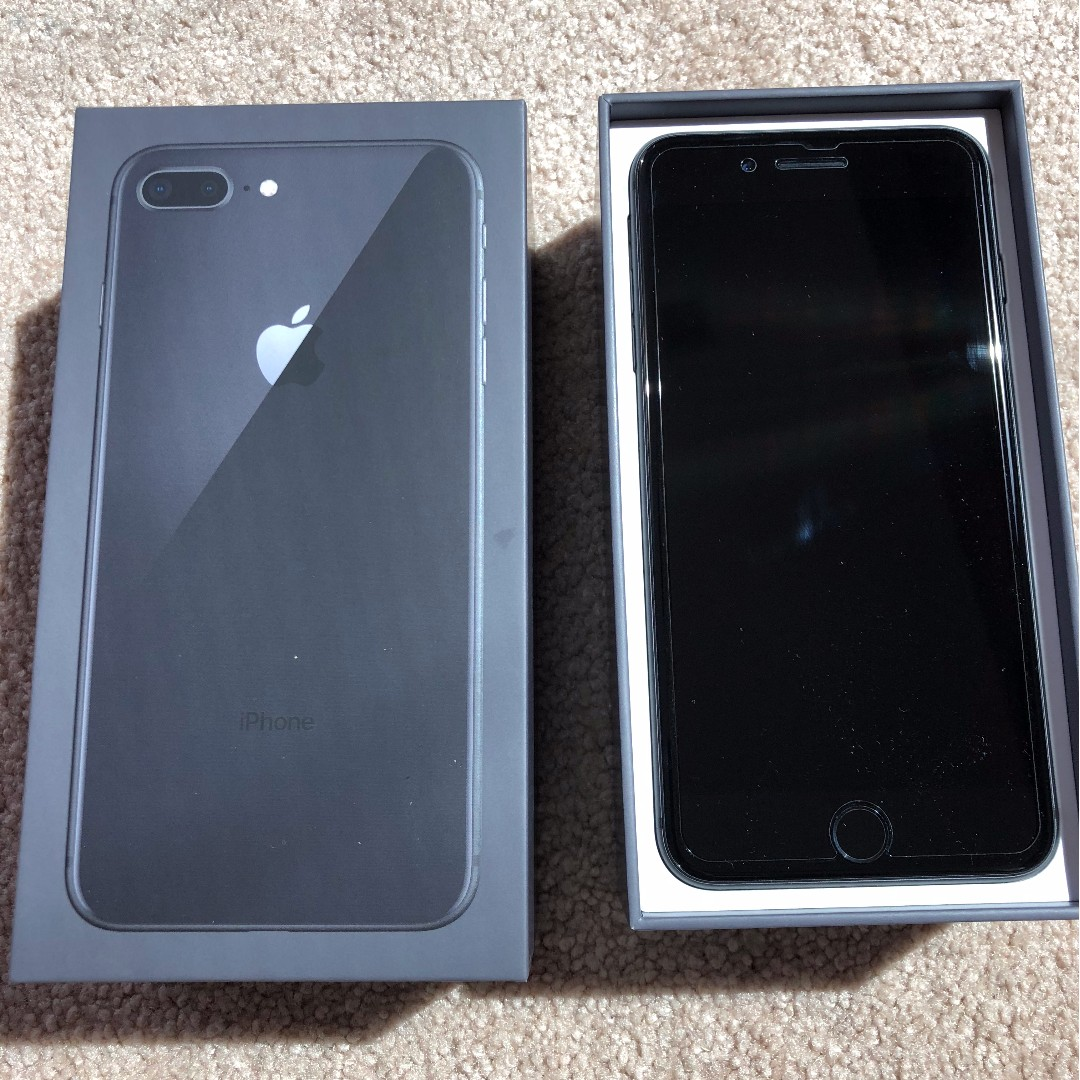 New iPhone 8 Plus 256Gb Space Grey, Mobile Phones & Tablets