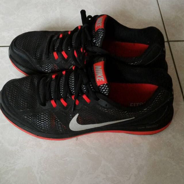 Nike 運動鞋 布鞋 黑紅