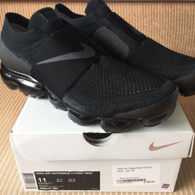 huge discount 19212 42e78 Nike Air Vapormax MOC Triple Black, Men's Fashion, Footwear on Carousell