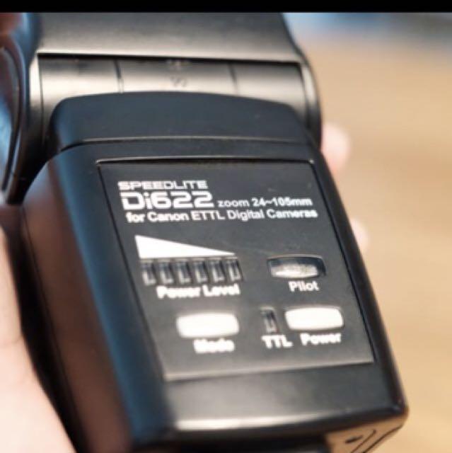 Nissin Di622 for Canon TTL