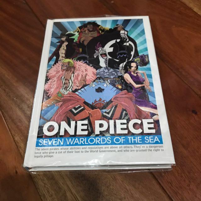 One Piece海賊王筆記簿本(絕版)