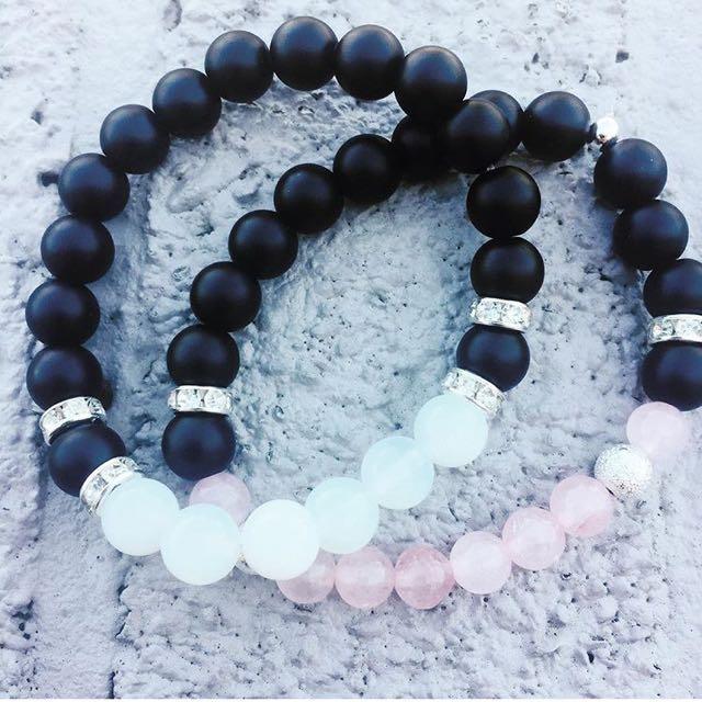 Opal & Rose Quartz Bracelet