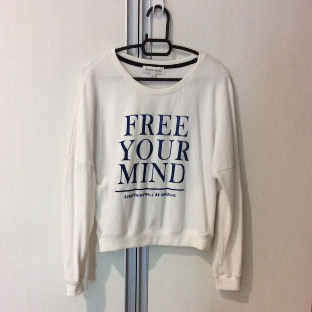 Padini Authentic White Long Sleeve Top
