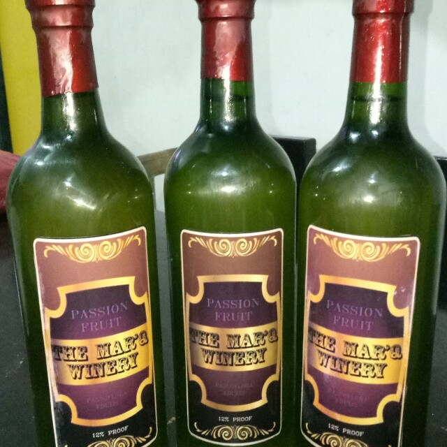 Passion Fruit Wine On Carousell