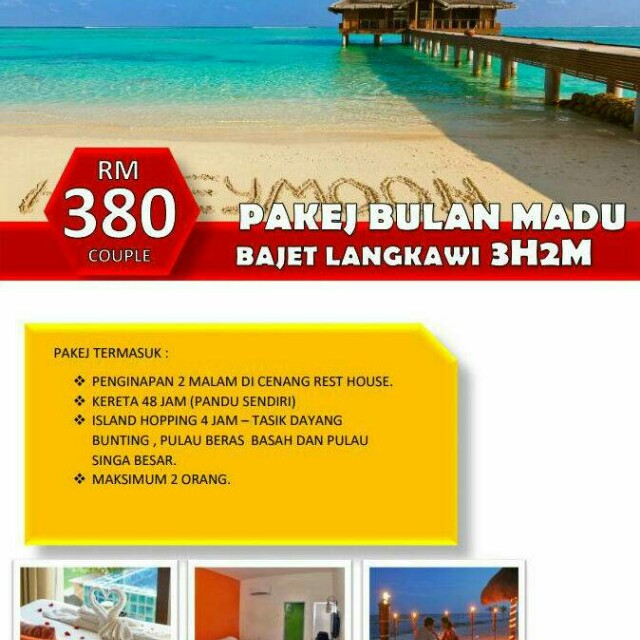 Percutian Ke Langkawi Tickets Vouchers Attractions Tickets On Carousell