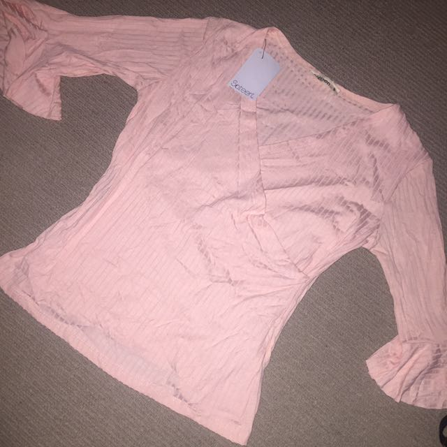 Pink top / T shirt / going out top