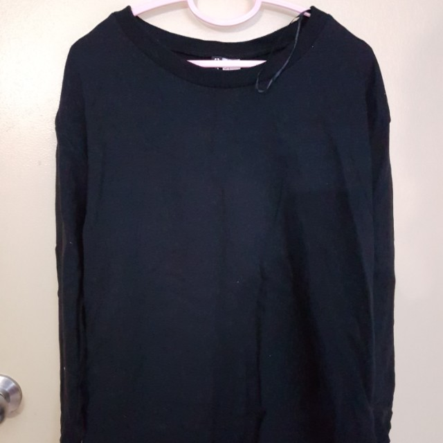 [PRELOVED] Black H&M Sweatshirt