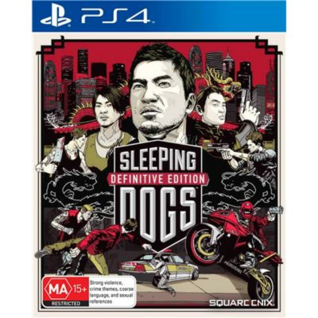 PS4 Game : Sleeping Dogs: Definitive Edition (Digital Download)