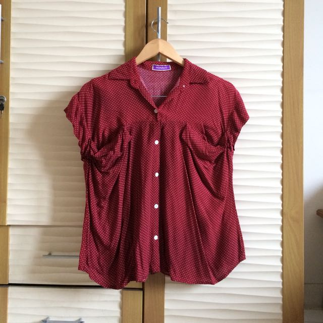 Red Polka Shirt