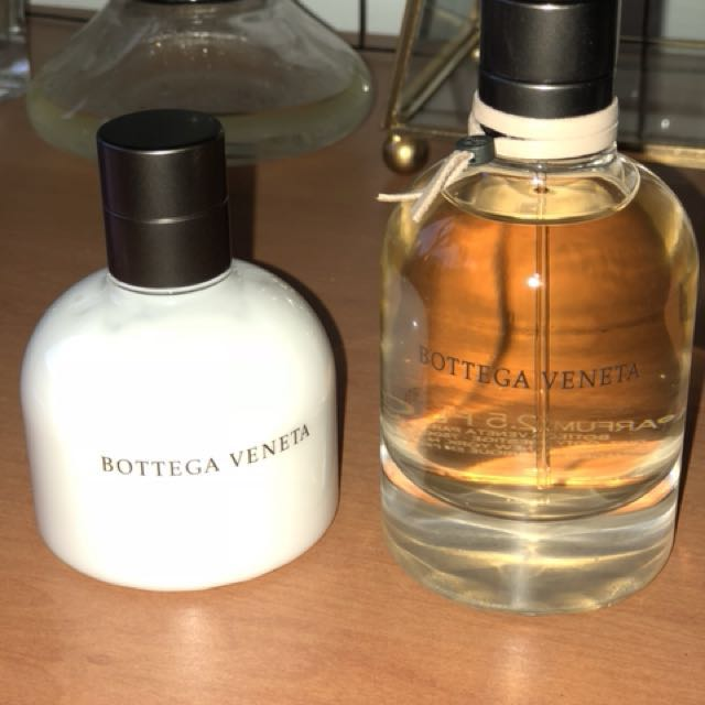 REDUCED Bottega Veneta Eau de Parfum 75ml X Body Lotion 100ml