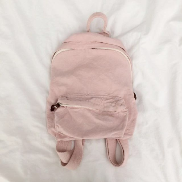 08e8f88e59 REDUCED Brandy Melville Pink Mini Backpack, Women's Fashion, Bags & Wallets  on Carousell