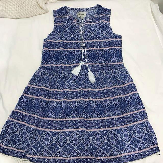 rhythm Persian print summer dress