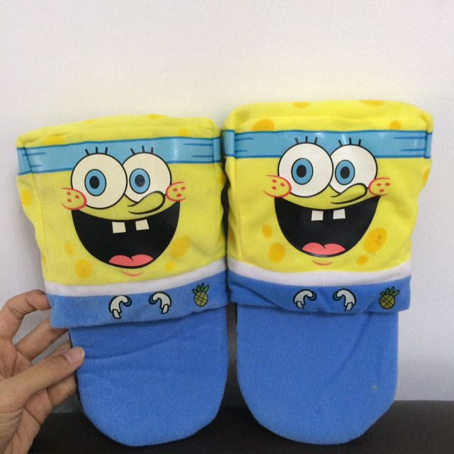 Sandal LIMITED EDITION Singapore Airlines Spongebob