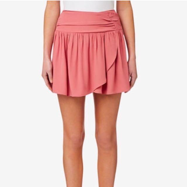 SEED heritage mini wrap skirt size 10
