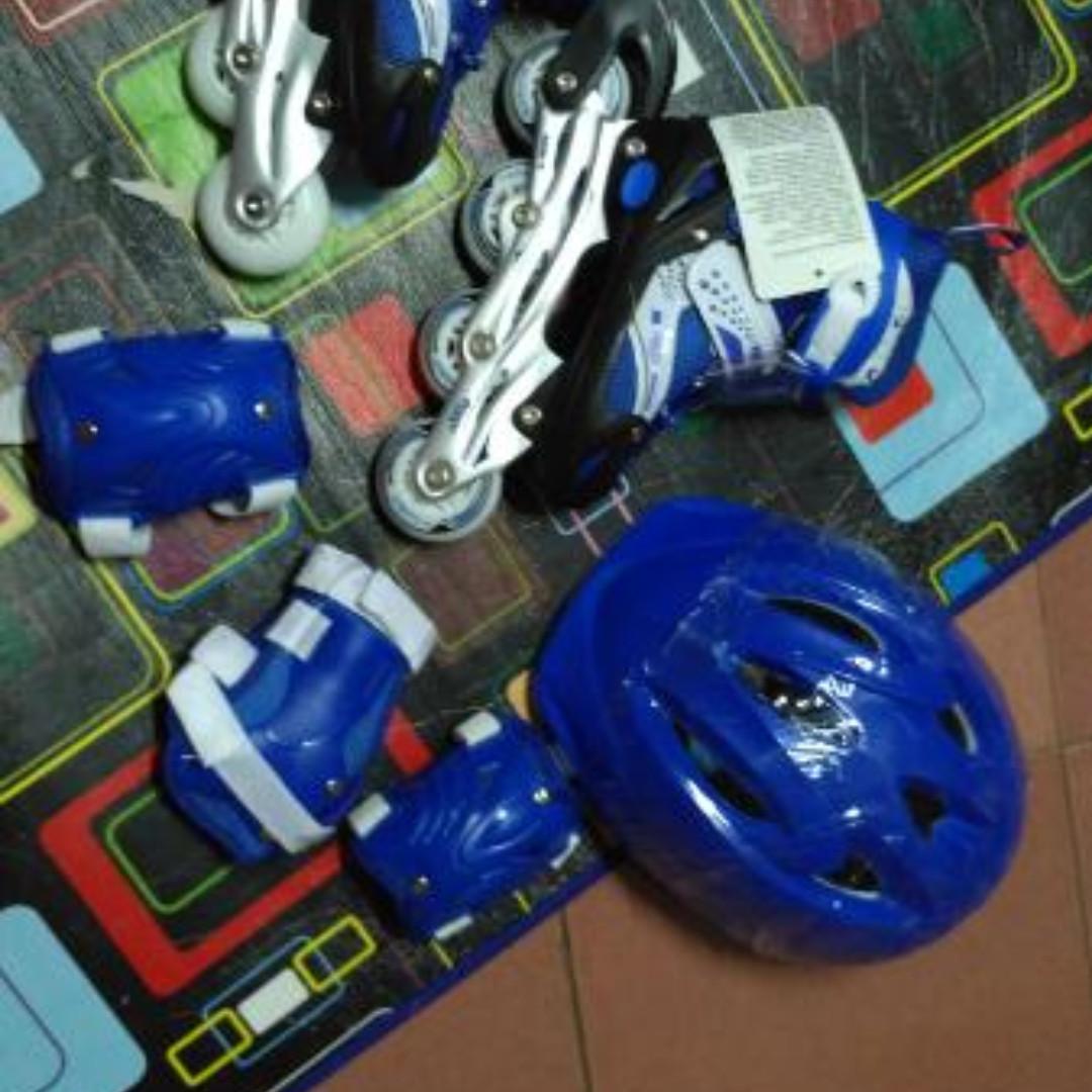 sepatu roda inline skate bajaj 6032 power superB free dekker dan helm 37b8e43b46