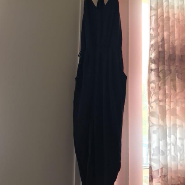 Sheike dress size 10 navy